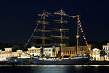 Sailing ship, St. Petersburg, Russia
