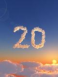 cloudy twenty