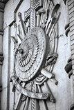 heraldic relief
