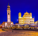 Townscape of Augsburg, Germany