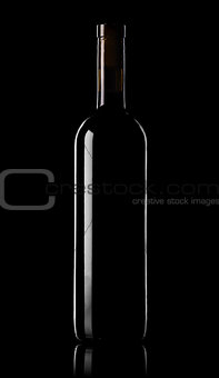 Wine on black