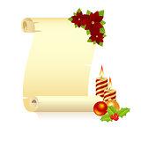 Christmas manuscript