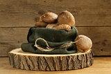 organic mushrooms agaric honey