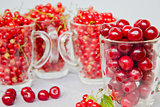 cherry and red currant