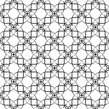 Seamless pattern of curves