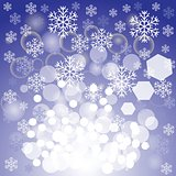 blue xmas background
