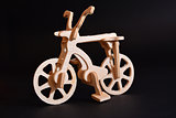 wood toy bicycle