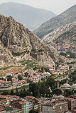Panoramic View of  Amasya, Turkey