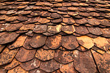 Traditional tiles roof
