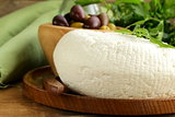 salted milk cheese (feta cheese)