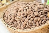 Roadted Almonds At The Market