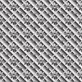 Design seamless metallic diagonal pattern