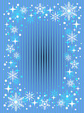 striped snow background
