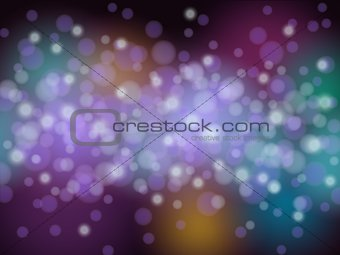 abstract light circle background pattern