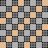 Design seamless diagonal checked pattern