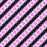 Design seamless pink and black diagonal pattern