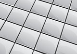 Grey tile background