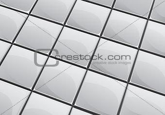 Grey tile background