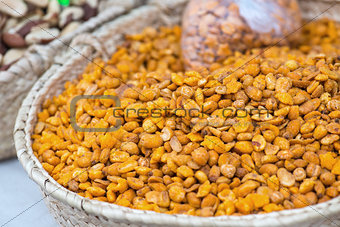 Spicy Peanuts On The Market