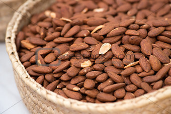 Fresh Almonds On The Market