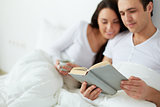 Reading in the morning