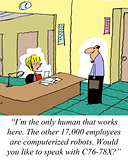 Robotic Employees