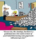 Overworked Boss