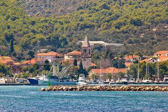 Town of Kukljica on Ugljan island