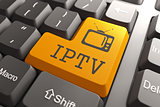 IPTV on Orange Keyboard Button.