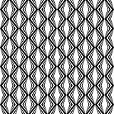 Design seamless monochrome diamond pattern