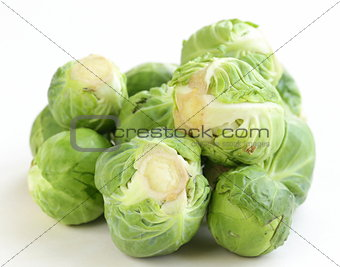 green brussel sprouts