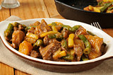Braised beef and potatoes