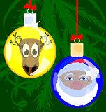 Christmas funny balls