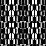 Design seamless monochrome trellised pattern