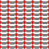 Design seamless monochrome striped pattern