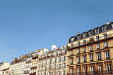 antique city building in paris