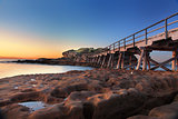 Sunrise at Bare Island, Australia
