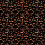 Design seamless diagonal spiral pattern