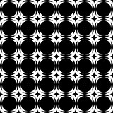 Design seamless monochrome geometric background