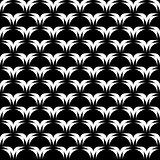 Design seamless black and white decorative background
