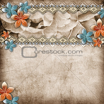 beautiful wedding background with  horizontal roses banner and l