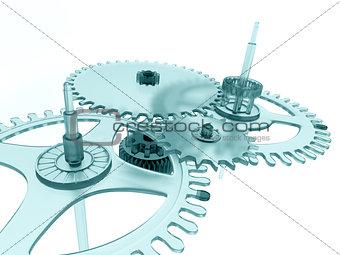 blue linked metal gears