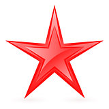 Red star.