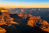 Beautiful colorful sunrise at Grand Canyon national park