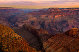 Grand Canyon colorful landscape view at sunrise