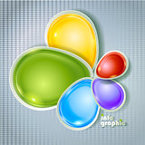 Abstract colorfull design for inforgraphics