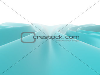 Abstract wavy surface, 3D