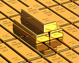 Big Set of Gold bars