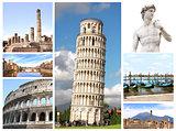 Landmarks of Italy