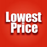 Lowest price poster